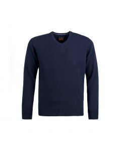 SWEATER V-NECK, NAVY