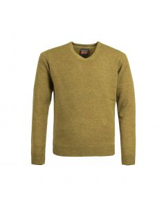 SWEATER V-NECK, MUSTARD
