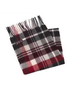 SCARF EASBY CHARCOAL, CHARCOAL
