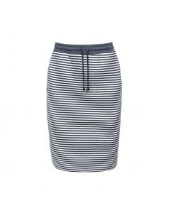 SKIRT STRIPE, NAVY