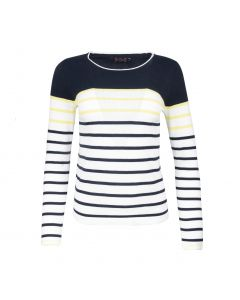 SWEATER STRIPE, NAVY