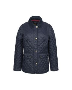 QUILTED COAT NEWDALE, NAVY