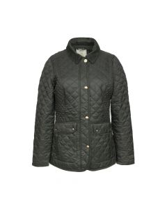 QUILTED COAT NEWDALE, OLIVE