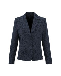 JACKET FLOWER, NAVY