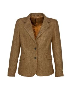 JACKET HERRINGBONE, CAMEL