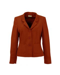 JACKET HERRINGBONE, RED