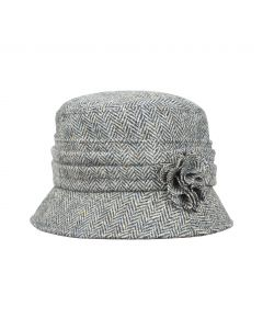 HAT KATE TWEED, GREY