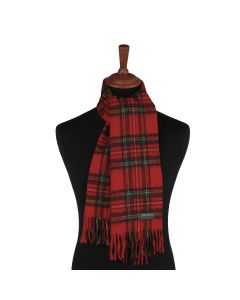 SCARF ROYAL STEWART, RED