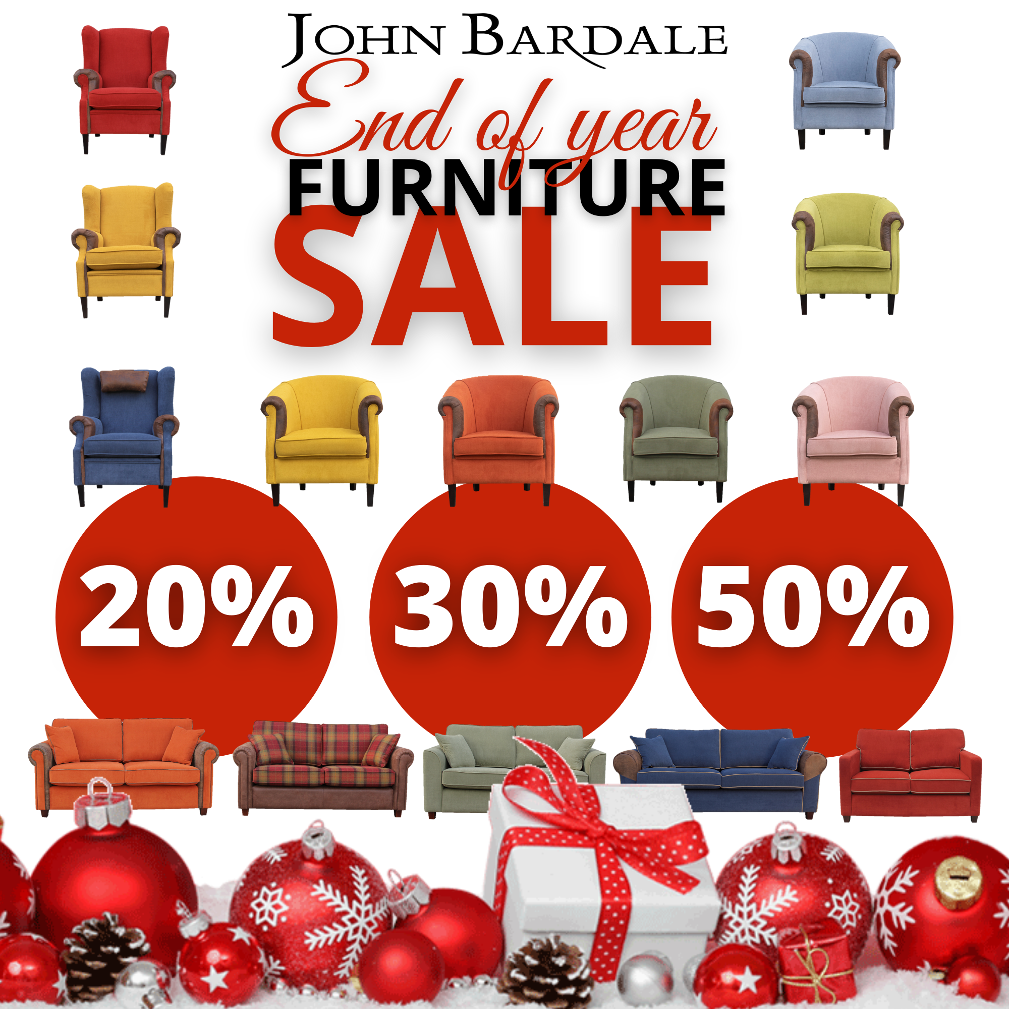 End of Year Furniture Sale